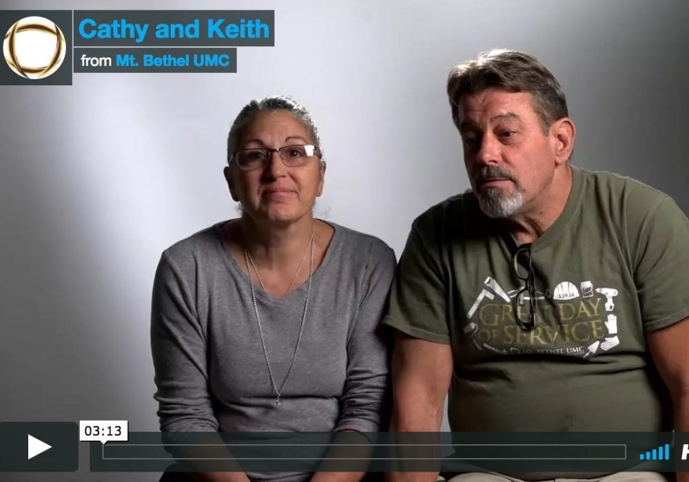 Cathy and Keith: Peace That Permeates More Than Finances